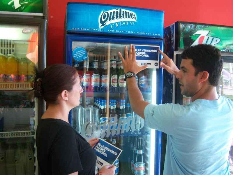 """Primeros resultados de la campaña: """"+18 = Venta Responsable"""" de Cervecería y Maltería Quilmes"""