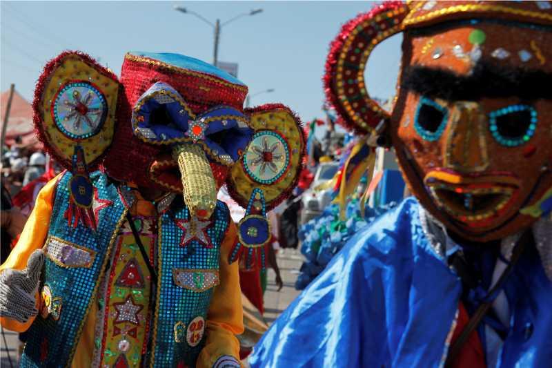 Colombia despliega toda su alegría en el tradicional Carnaval de Barranquilla Barranquilla