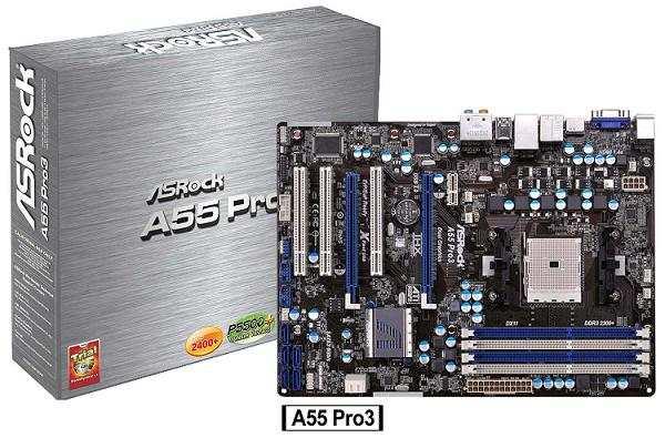 Nueva serie ASRock A55, las mejores tarjetas para plataforma AMD Llano