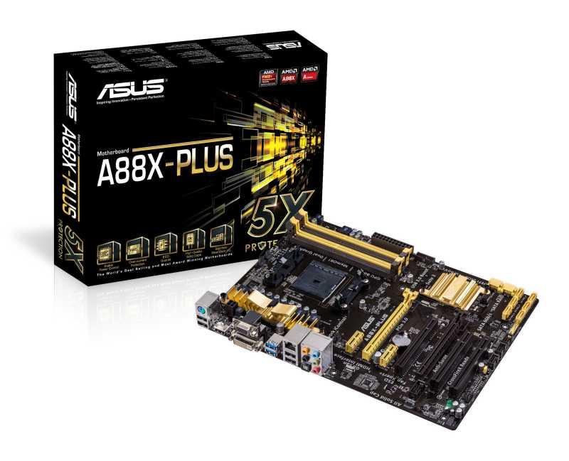 ASUS Lanza cinco Motherboards FM2+ para los nuevos procesadores APU de AMD