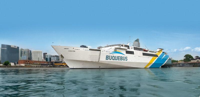 Buquebus obtiene 100% de puntualidad en el servicio
