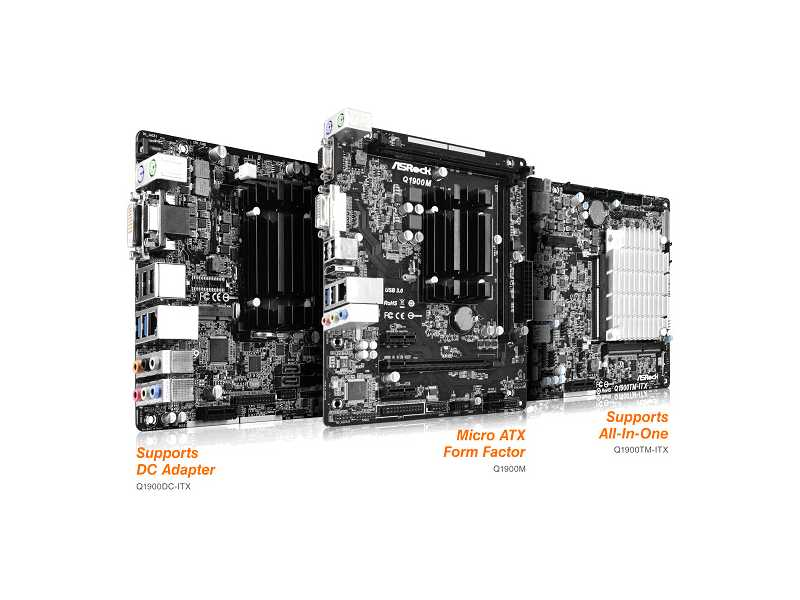 ASRock presenta sus placas madre Serie Intel® Bay Trail-D