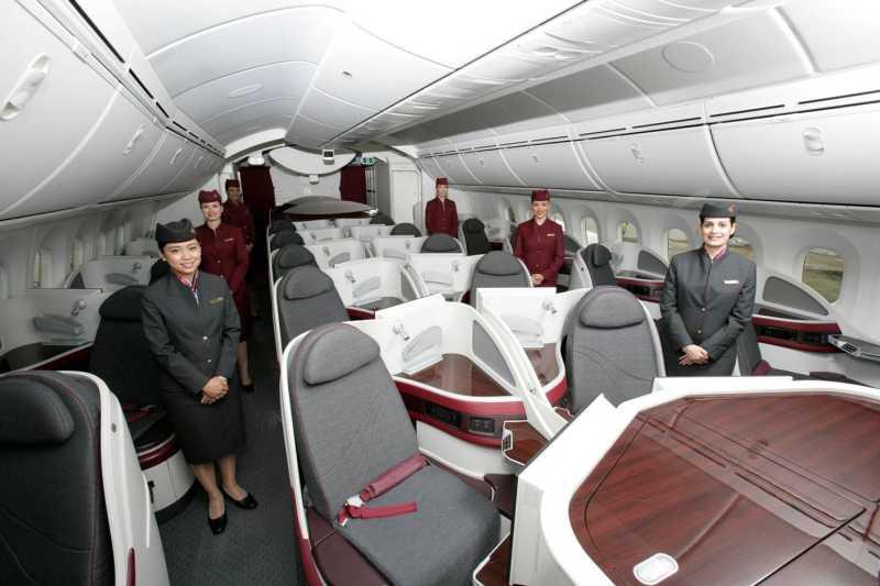 Nuevo Boeing 787 Dreamliner de Qatar Airways