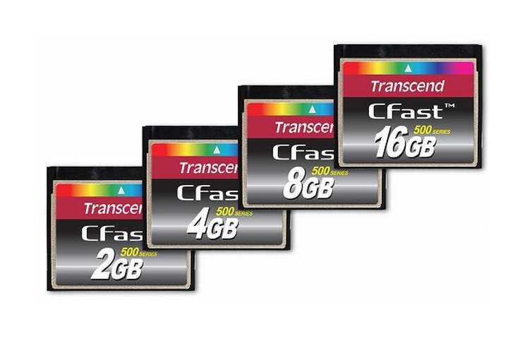 Transcend revoluciona las tarjetas Compact Flash con la memoria CFast con interfaz SATA