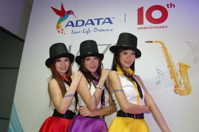 ADATA marca diez años de éxito en Computex 2011 con grandes eventos de celebración