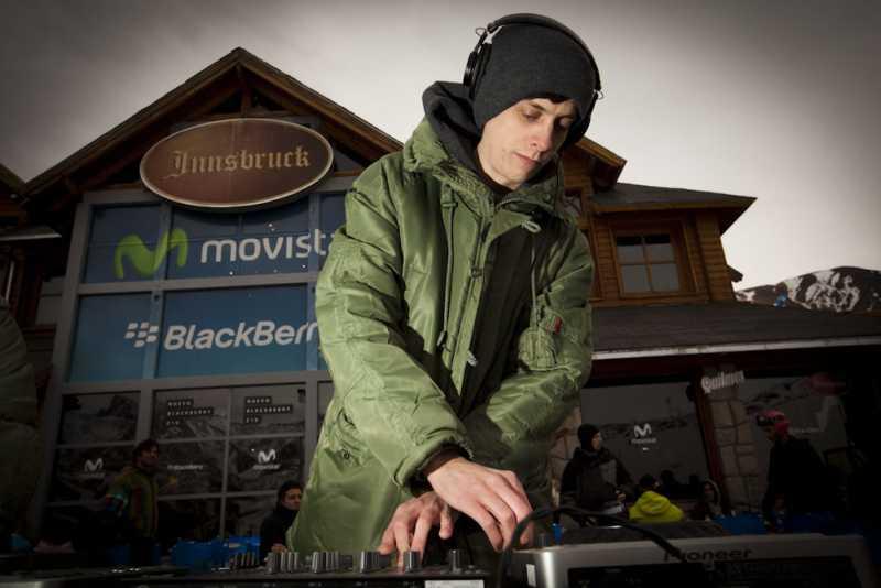 Movistar presentó un nuevo After Ski en Las Leñas con la actuación de Dj Stuart