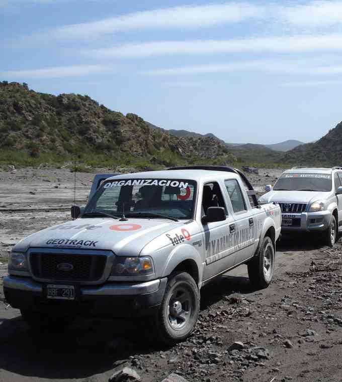 En Mendoza, Ford y Fate inician el ciclo de travesías GeoTrack 2009