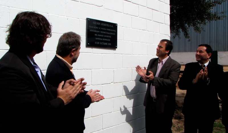 Celsur inauguró las obras de ampliación de su Parque Logístico de General Rodríguez