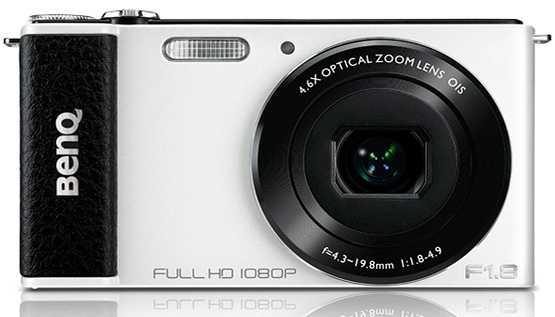La G1 de BenQ es la cámara con lente F1.8 y pantalla giratoria más delgada del mundo