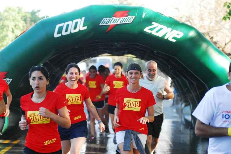 Gatorade estuvo presente en la Nike Human Race con su campaña de reciclado y su nueva Área de Servicio