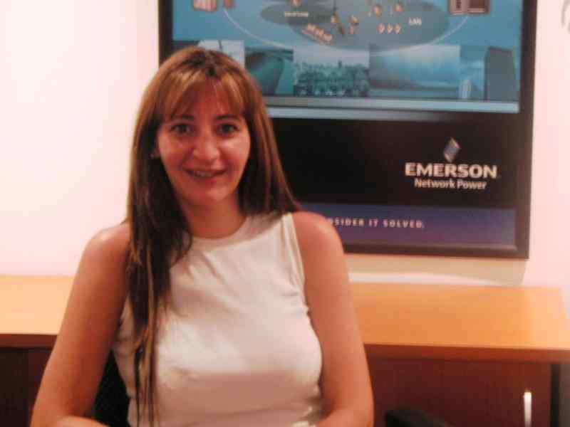 Incorporación de Geraldine Berler a Emerson Network Power