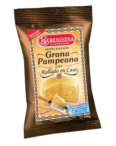 La Serenísima presenta su Queso Rallado Grana Pampeana