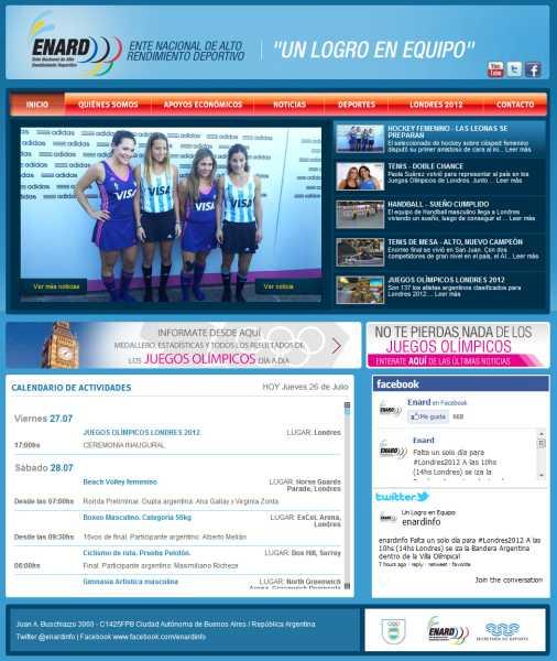 El ENARD relanza su pagina web