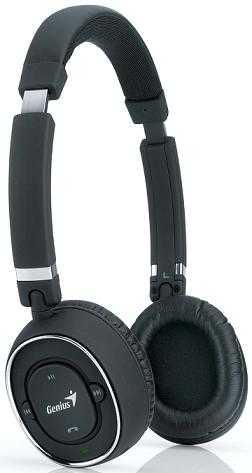 Genius presenta los auriculares HS-980BT Bluetooth para escuchar música o hablar por teléfonos sin ningún cable