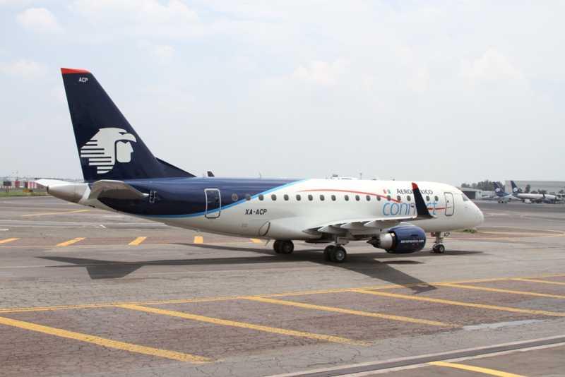 Aeroméxico incorpora a su flota el primer equipo Embraer 170
