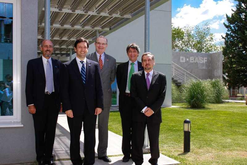 BASF inauguró en la CasaE un Centro de Investigación y Capacitación Tecnológica para la Construcción Sustentable
