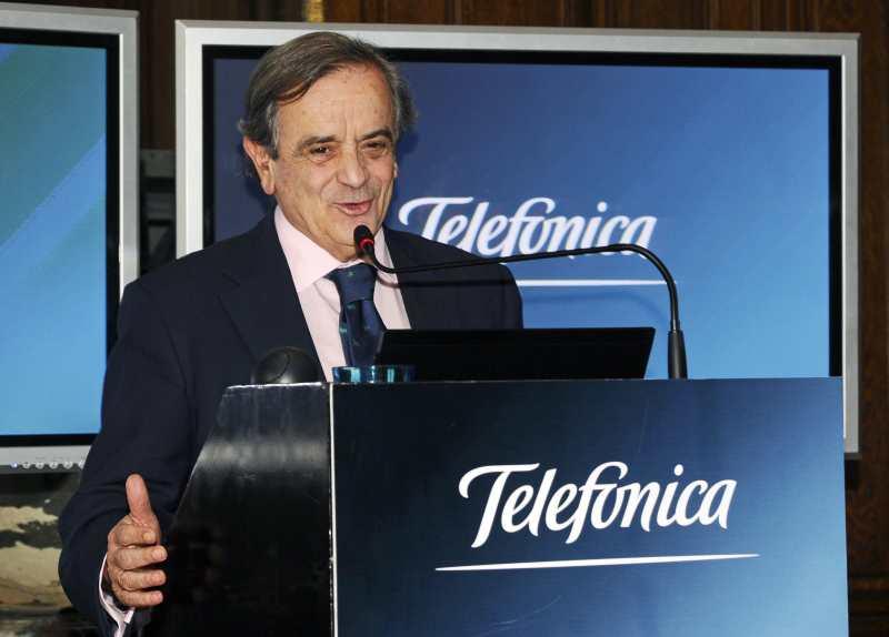 El Presidente del Grupo Telefónica en la Argentina Luis Blasco Bosqued  anunció inversiones que superan los 10 mil millones de pesos para el trienio 2012-2014