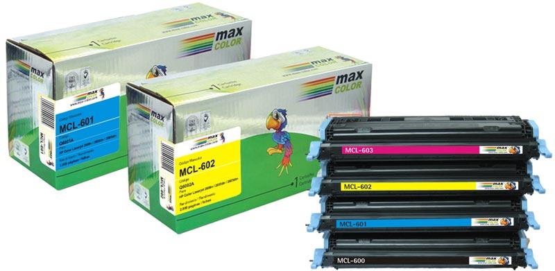Nuevos cartuchos láser color Maxcolor compatibles con HP