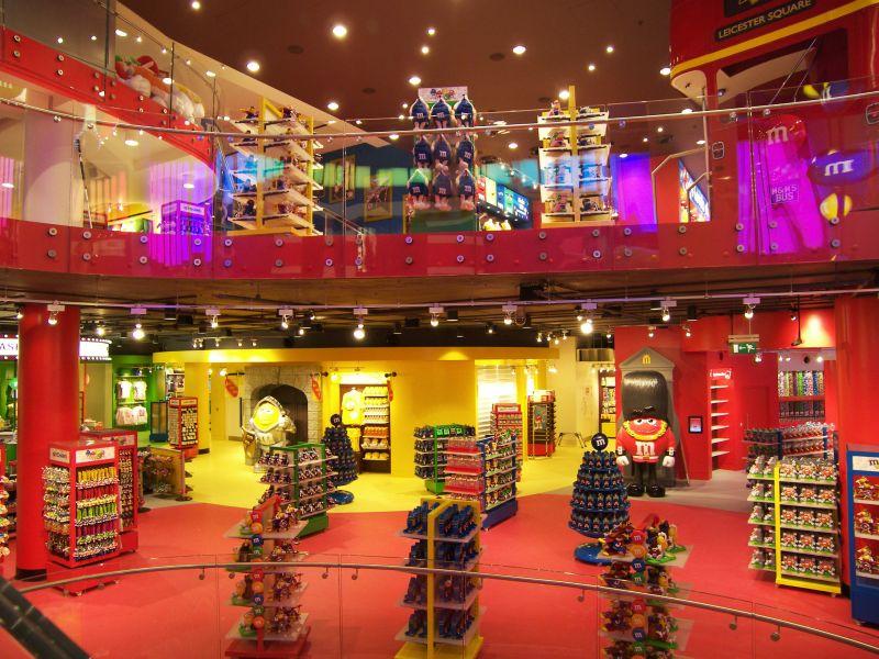 M&M'S® inauguró una mega tienda en Londres