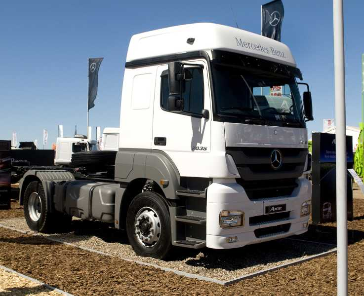 Mercedes-Benz participó de Agroactiva  2014