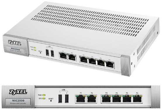ZyXEL presenta el Controlador LAN inalámbrico de múltiples usos para empresas