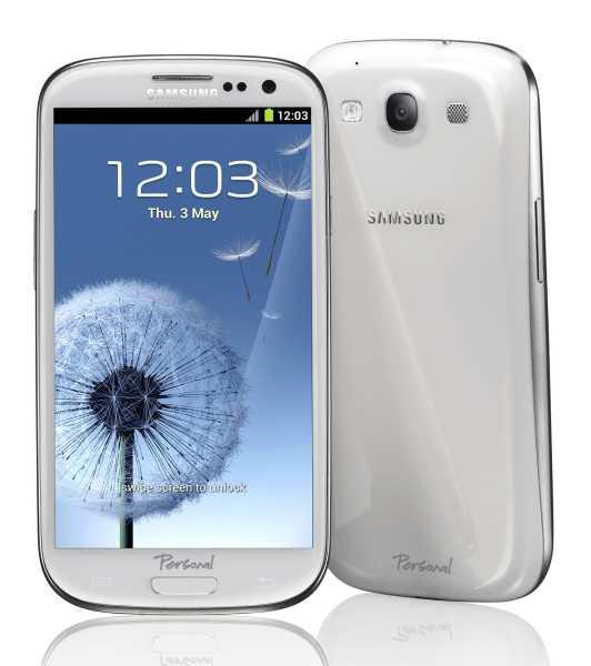 Personal anuncia la preventa del nuevo Samsung Galaxy SIII