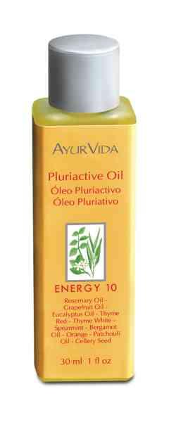 AyurVida presenta su Oleo Pluriactivo Energy