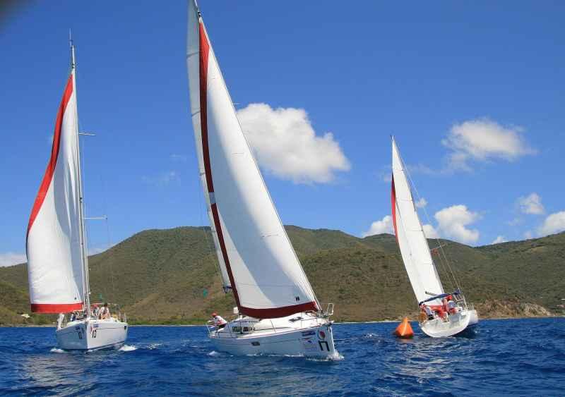 Las Islas Vírgenes Británicas realizan su Regata de Primavera 2010