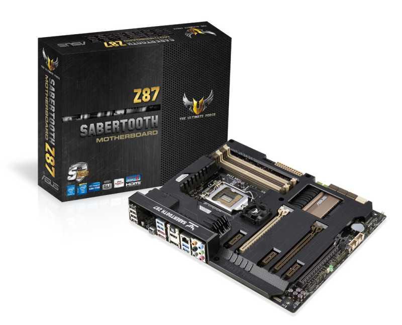 Motherboards ROG Z87 & TUF Z87 de ASUS disponibles en Argentina