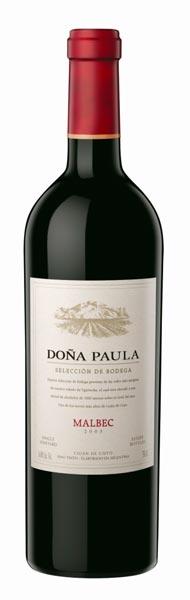 """El Malbec 2005 de Doña Paula obtuvo 91 puntos en """"Wine Spectator"""""""