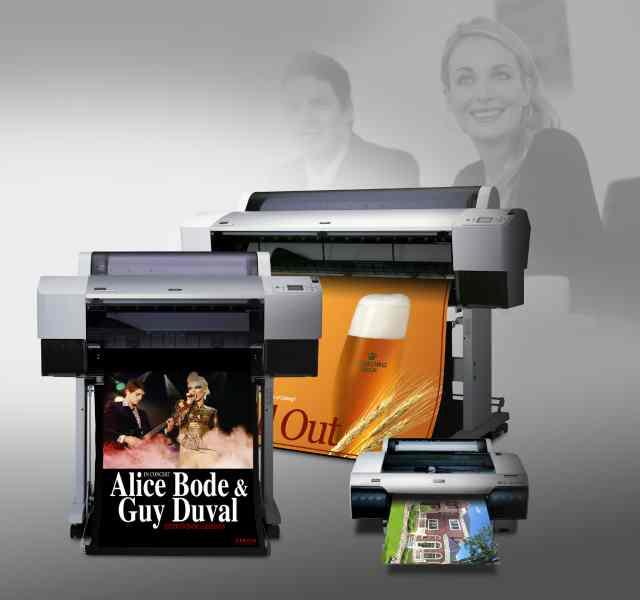 Epson presenta nuevas tintas pigmentadas en su novedosa lineade impresoras de gran formato