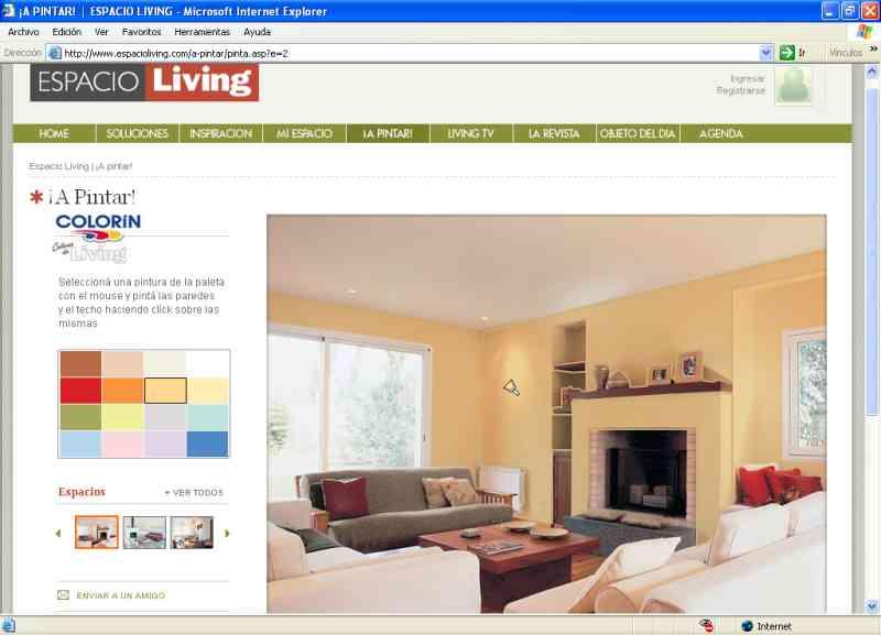 Color n present un simulador interactivo de colores for Pintura color canela