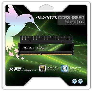 ADATA añade nuevos kits de memoria de alta capacidad a su línea de productos XPG Gaming Series