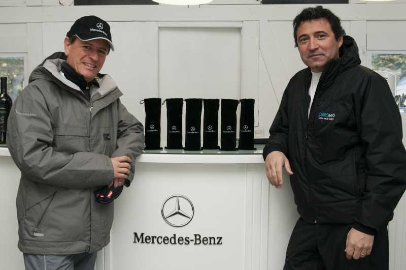 Mercedes-Benz, en Villa La Angostura