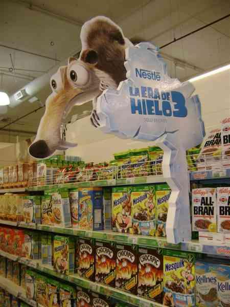 Cyon desarrolló un saliente innovar para Cereales Nestlé