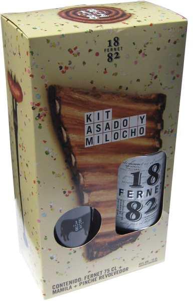 """Fernet 1882 lanza su kit fernetero """"Asado y milocho"""""""