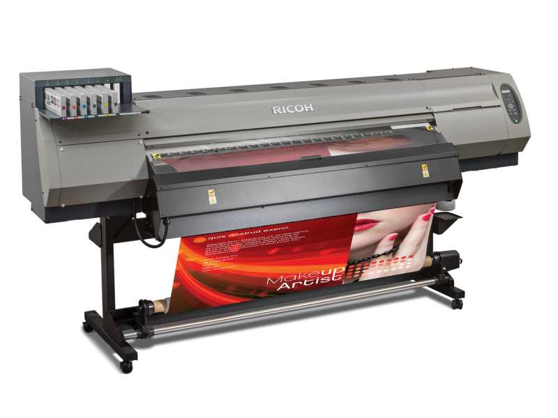 Ricoh lanza nuevas impresoras de tinta de látex y gran formato para señalización interior y exterior