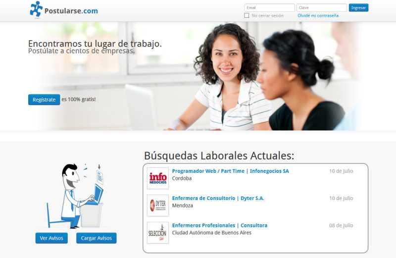 Postularse.com lanza su servicio gratuito de avisos de búsquedas de personal