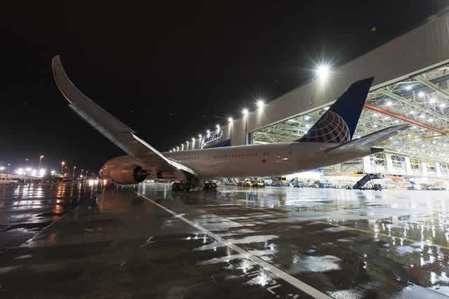 United Airlines recibe el primer 787-9 en América del Norte