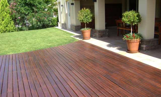 Colorshop presenta tres tipos de soluciones sustentables for Deck para exteriores