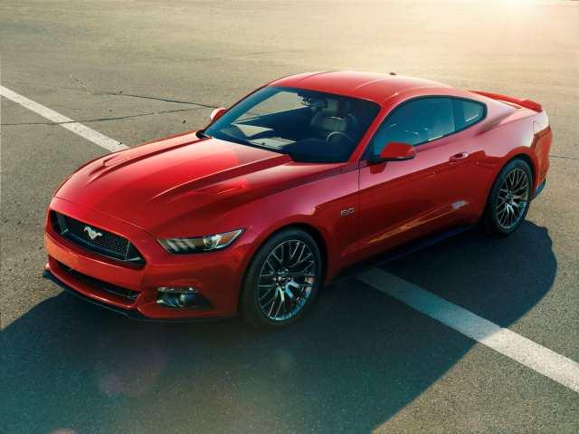 Ford presentó el nuevo Mustang en California