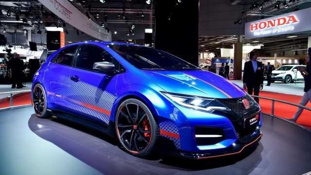 Honda confirma lanzamiento del modelo de producción del Civic Type R para Ginebra 2015