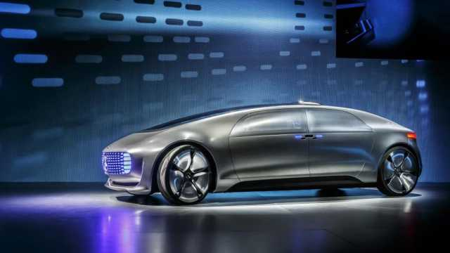 CES 2015: Mercedes F015 Luxury in Motion Concept