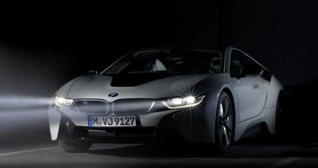 Los faros láser del BMW i8 cuestan 11.570 euros