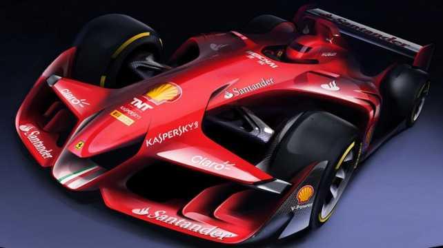 Ferrari imagina el Fórmula 1 del futuro