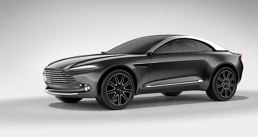 Aston Martin DBX, mezclando propulsión eléctrica y crossover para Ginebra