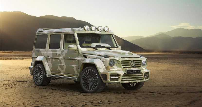 Mercedes G63 AMG Sahara Edition by Mansory