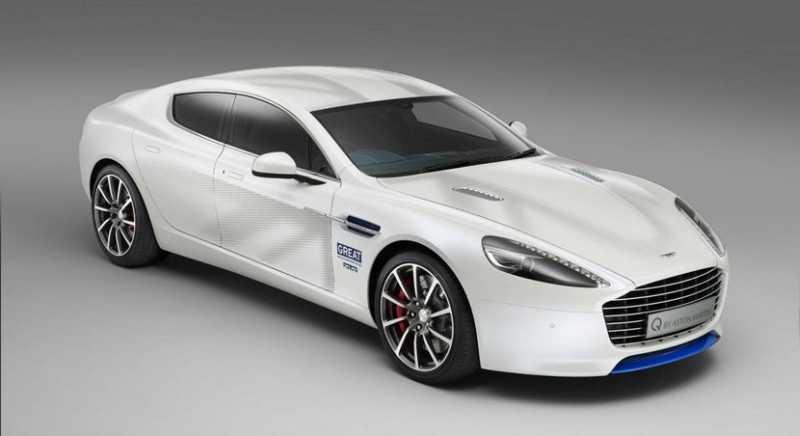 Aston Martin Rapide S by Q, todo por la patria