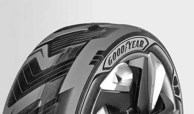 Goodyear crea el primer neumático que genera electricidad