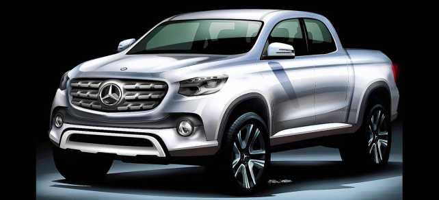 Por primera vez, Mercedes-Benz tendrá una pick-up